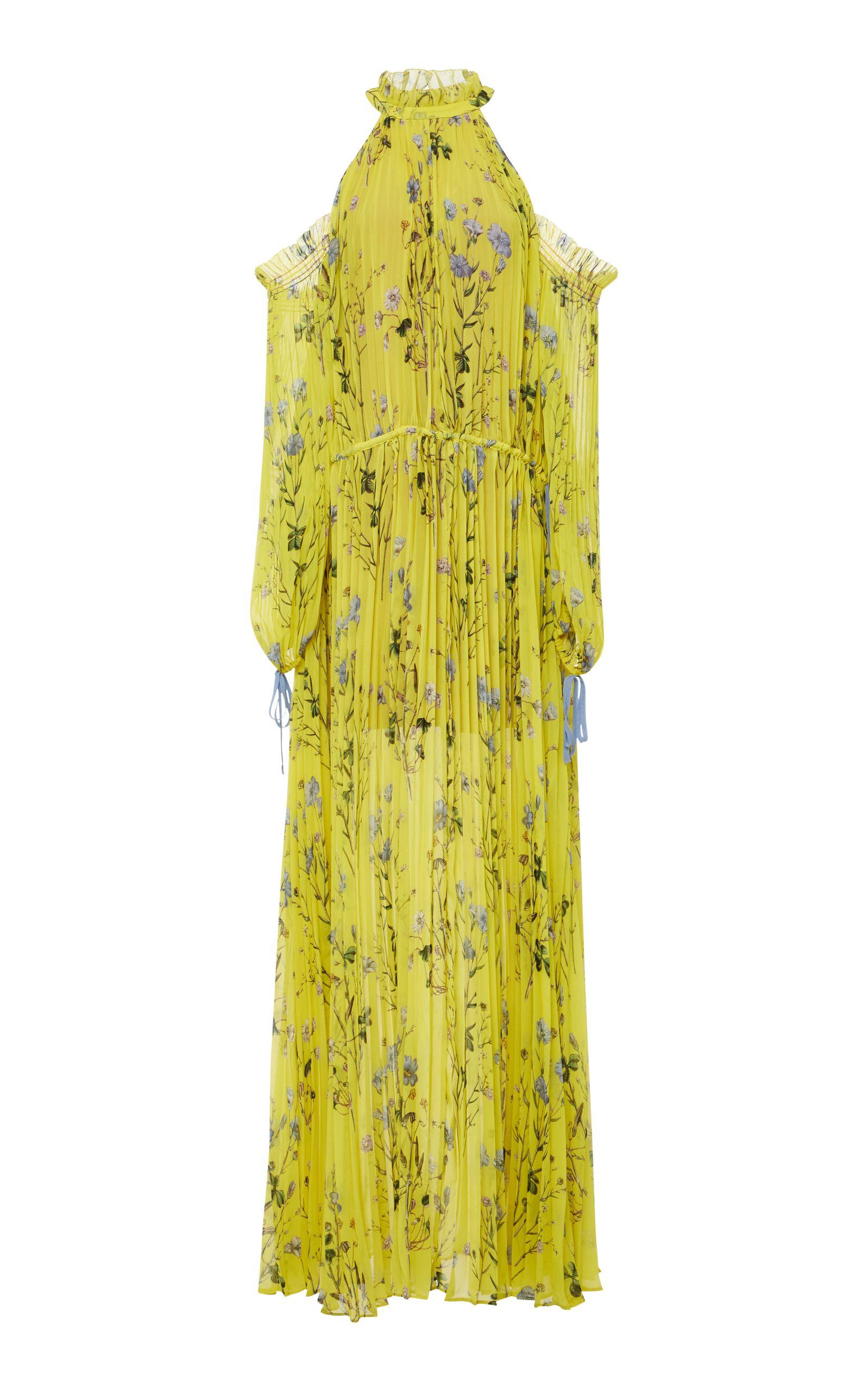 3a8aab5ecbf41 SELF-PORTRAIT FLORAL-PRINT CHIFFON MAXI DRESS. #self-portrait #cloth ...