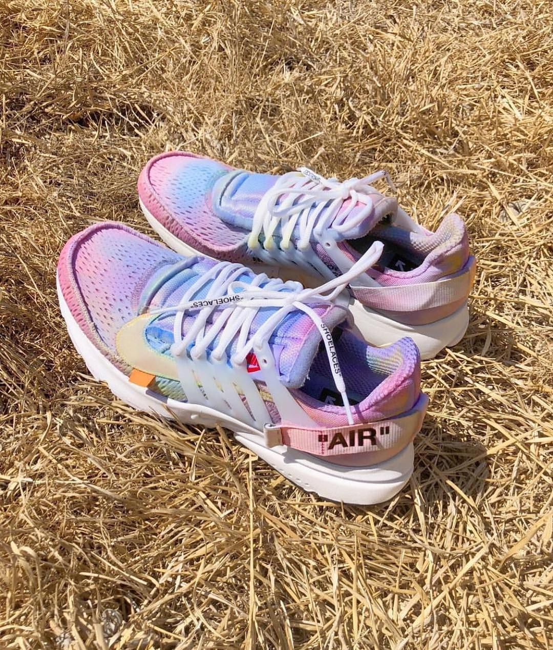 Off White X Nike Presto Custom By Johnmayer Nike P White Nikes Sneakers Nike Air Presto