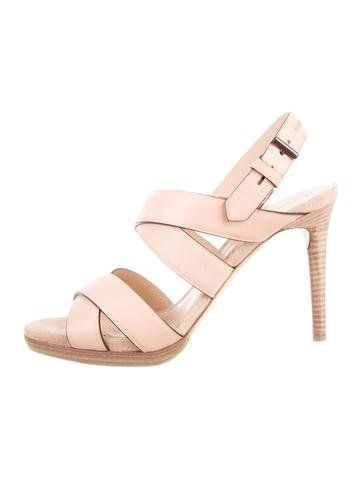 Reed Krakoff Leather Multistrap Sandals w/ Tags discount under $60 sQcQLqt