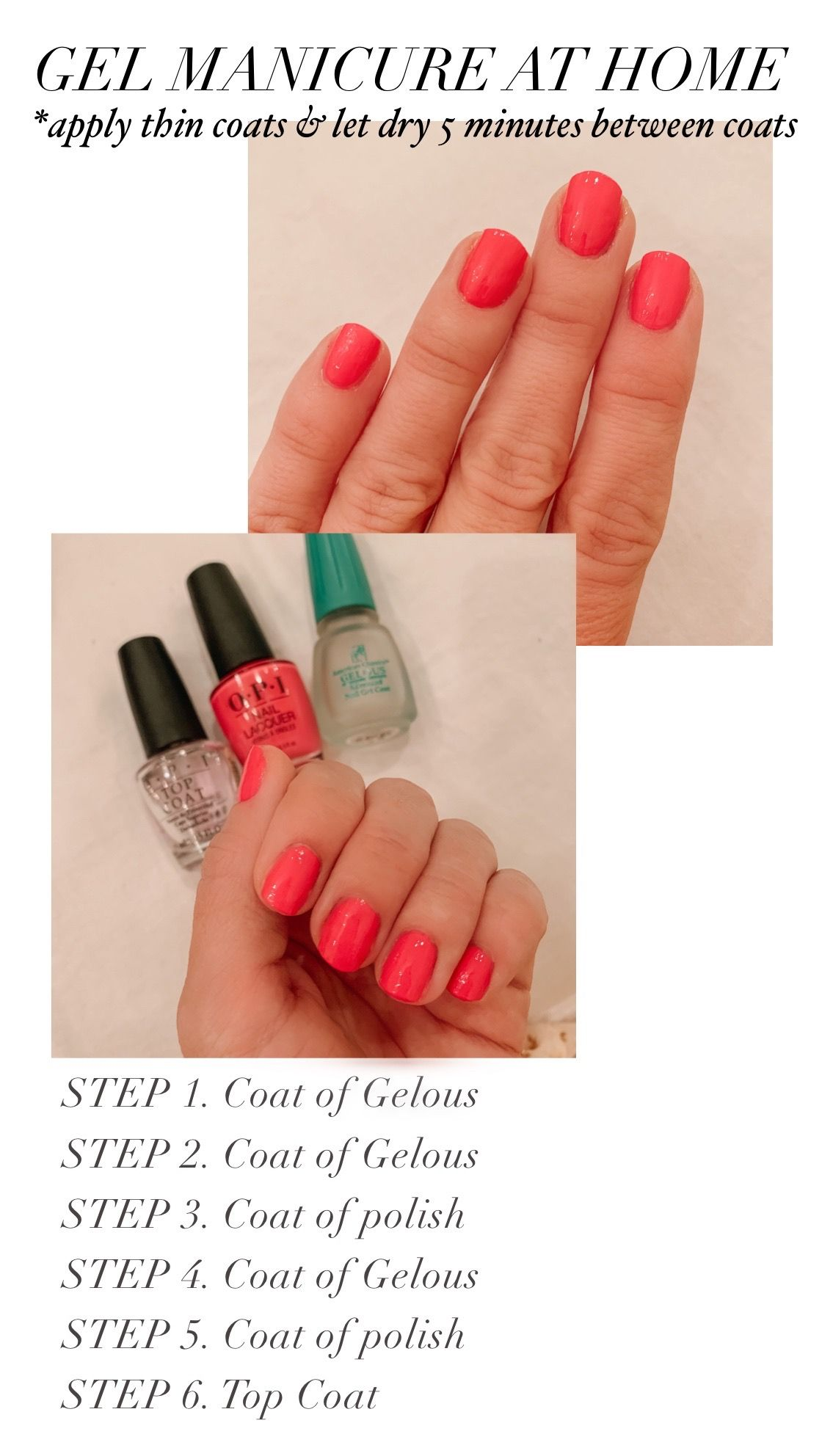 Gel Nails Without Uv : nails, without, Perfect, Manicure, (Without, Light), Honey, We're, Home,, Manicure,