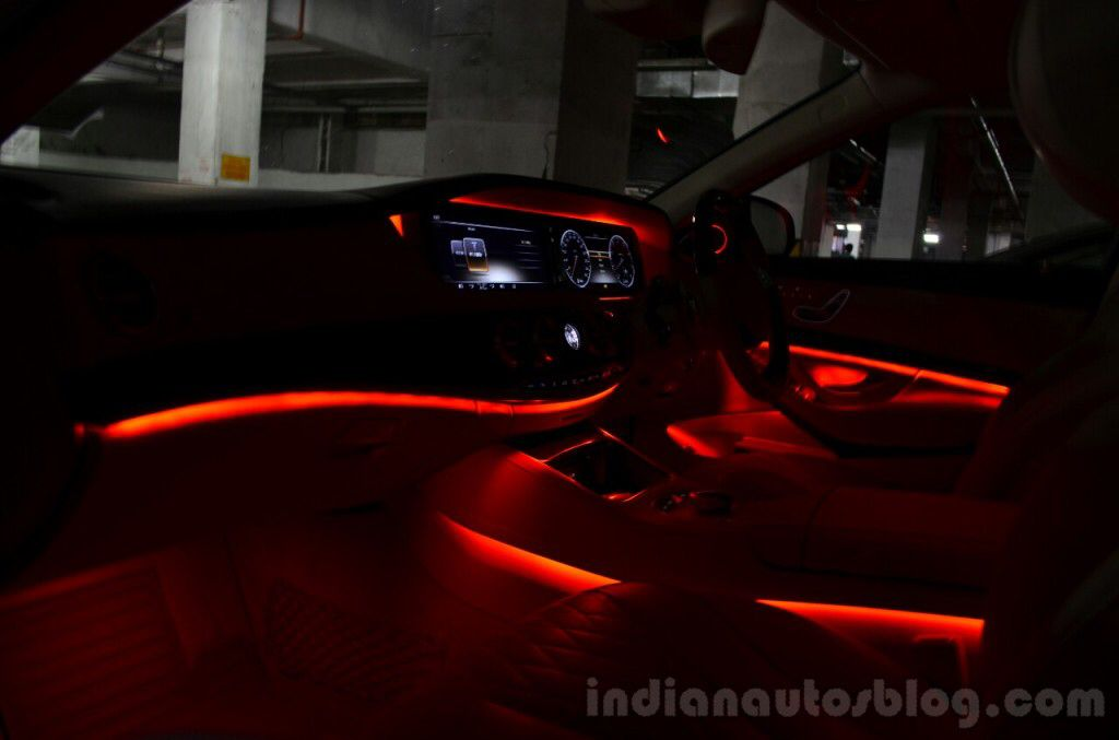 I Choose The Mercedes Benz S Class Led Interior Lighting They