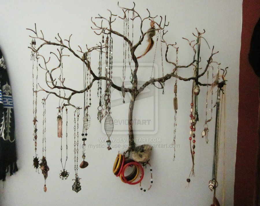 Weeping Willow Jewelry Tree By Mystic