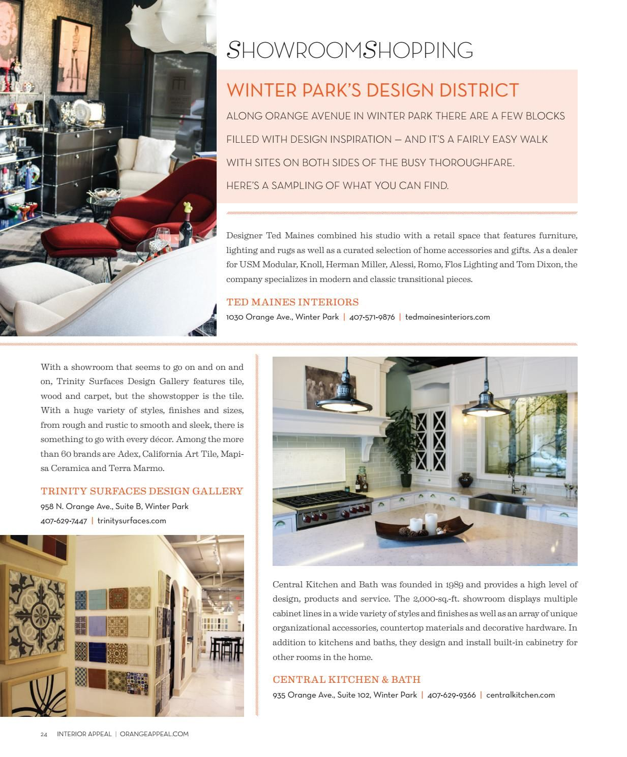 Affinity At Winter Park Home: Interior Appeal Winter 2017