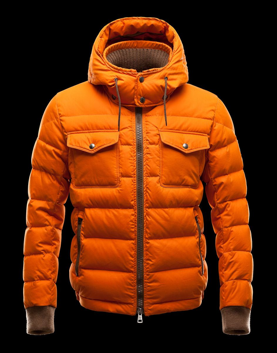 moncler bodywarmer orange
