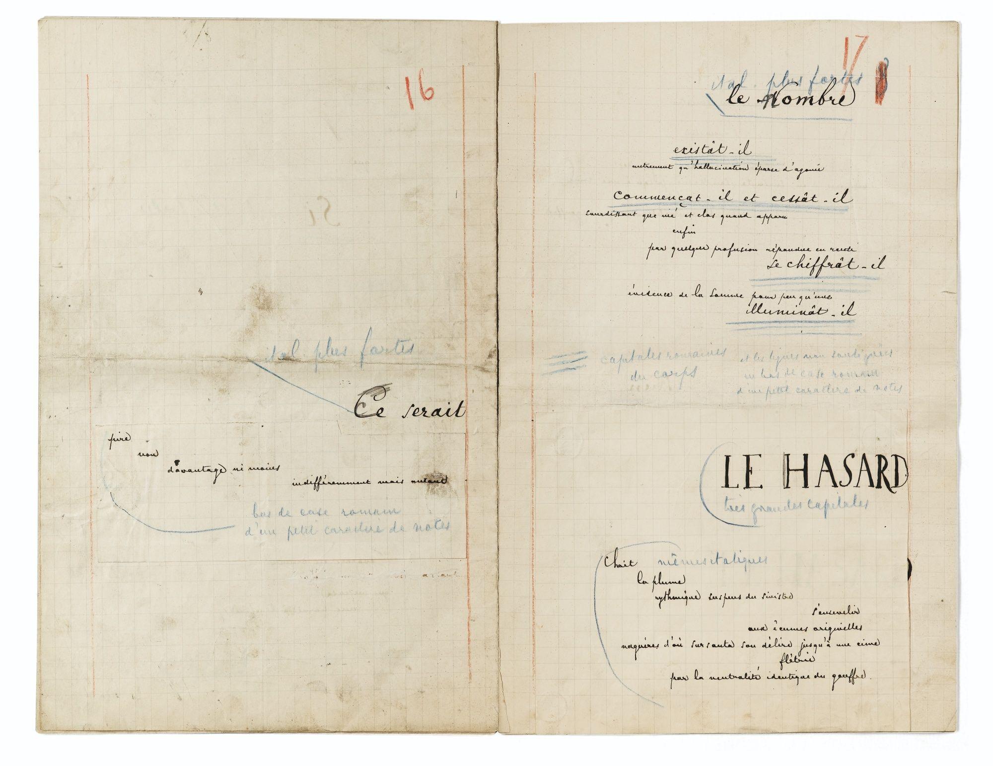 Mallarmé Stéphane Jamais Sic Mallarmé Le Hasard Poete Francais
