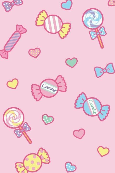 Cute Candy Rush Wallpaper Wallpapper In 2019 Kawaii Wallpaper