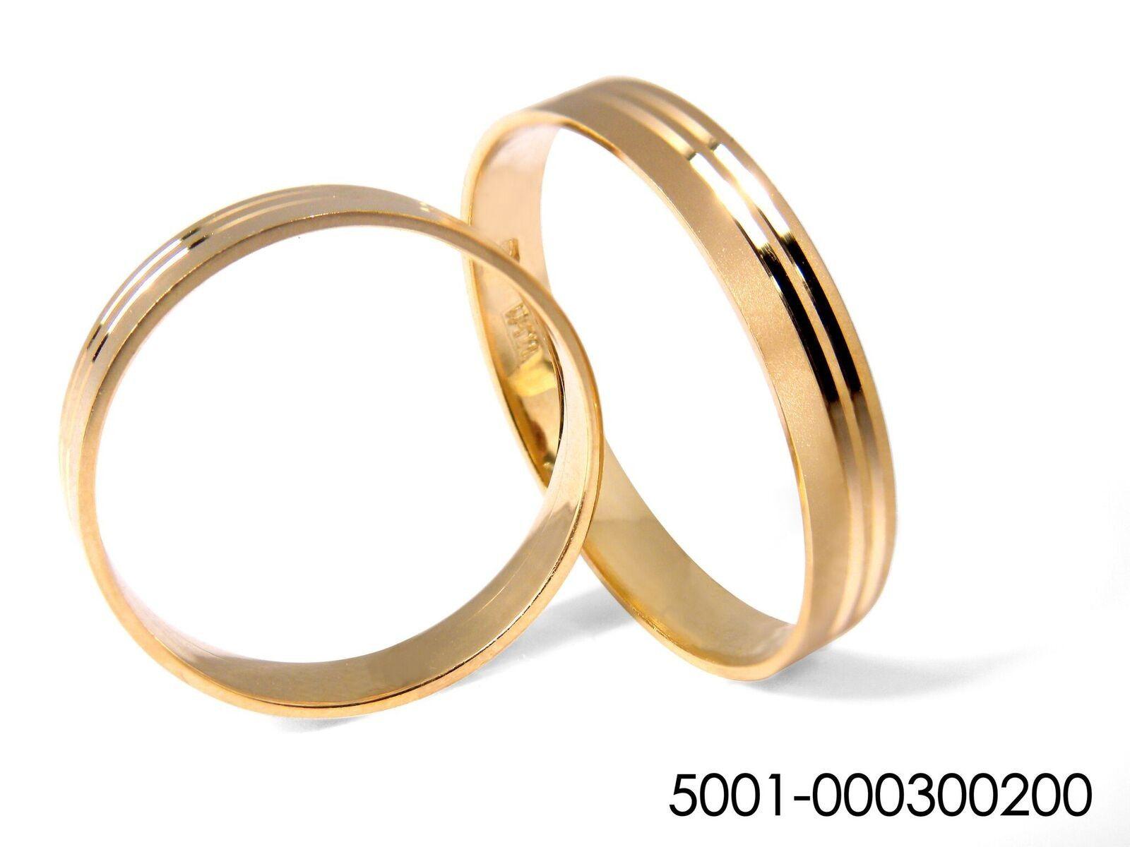 bd5f7285af18 Alianza de boda plana dos gallones
