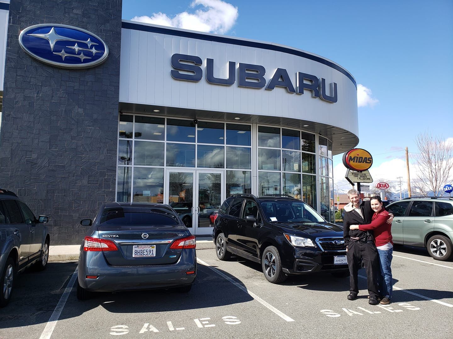 Congrats on your new forester allison to the