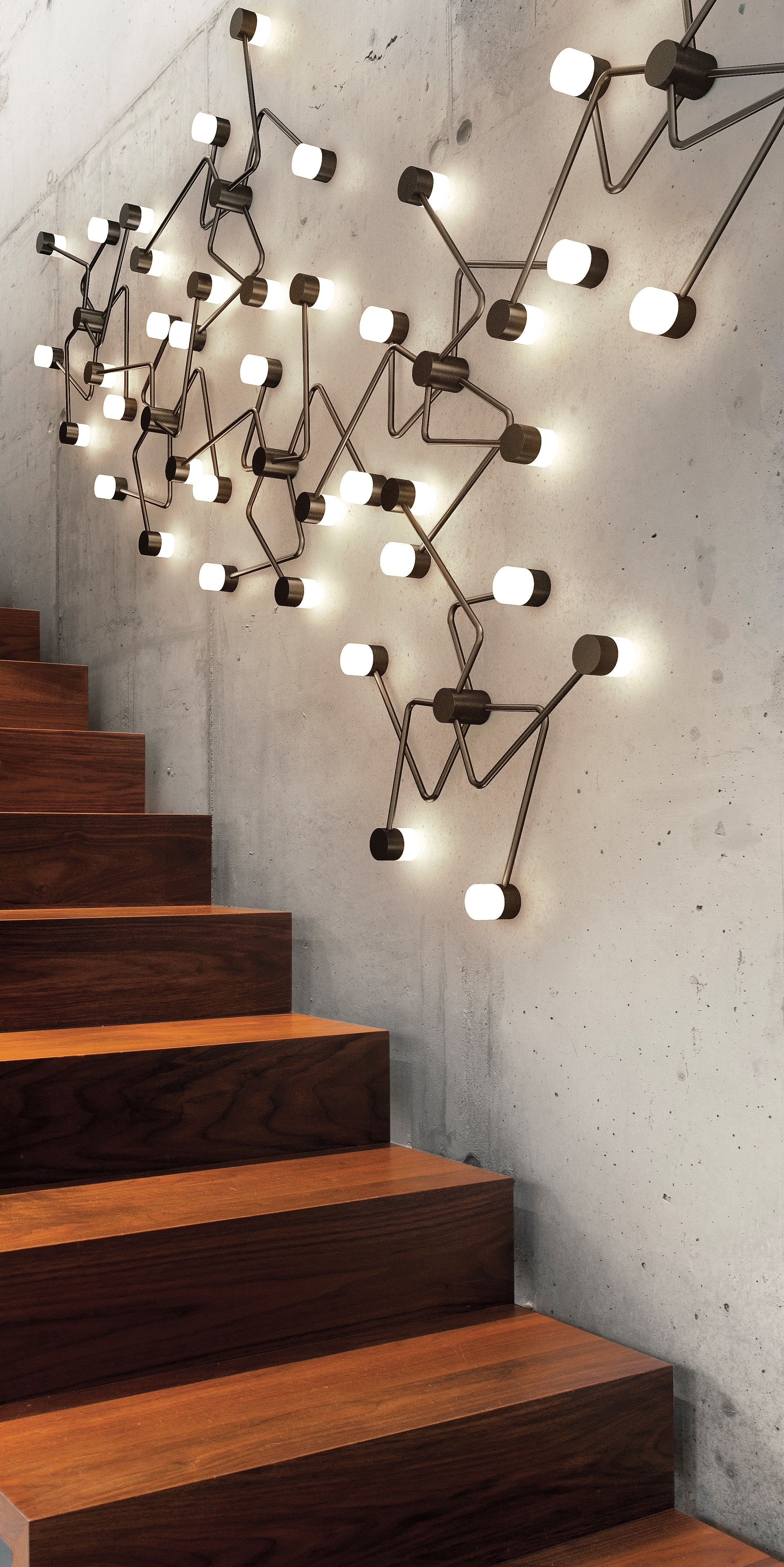 Constellation Wall Ceiling Light By Cvl Luminaires Constellation Wall Sg Sb Geometric Lighting Geometric Light Fixture Wall Ceiling Lights