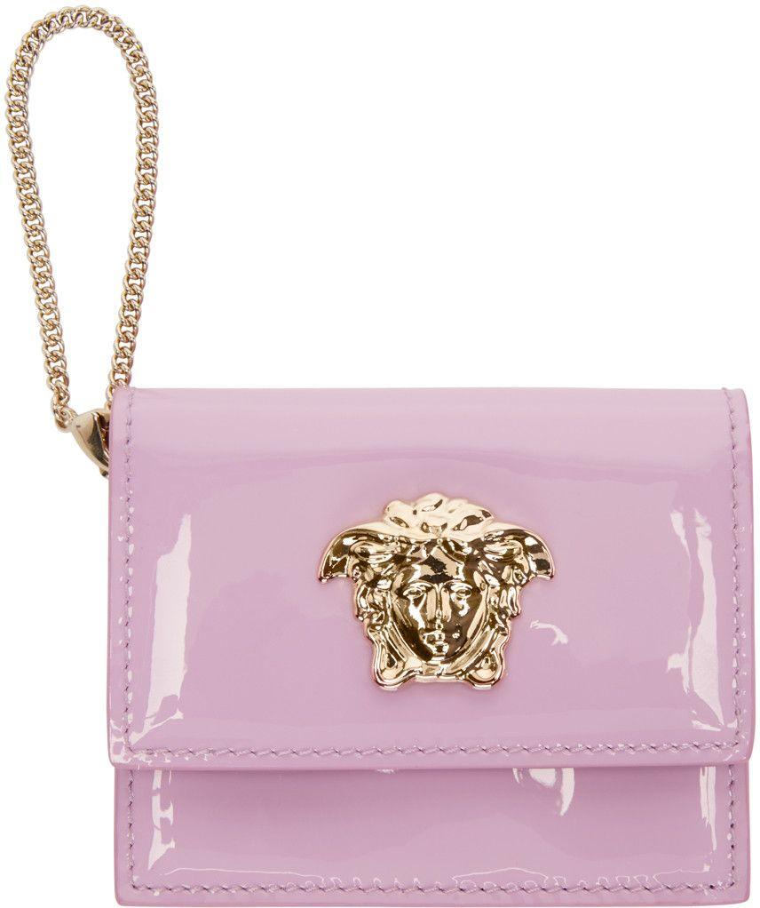 75d3fa4476 Versace - Pink Medusa Wallet | My Versace Favorites in 2019 ...
