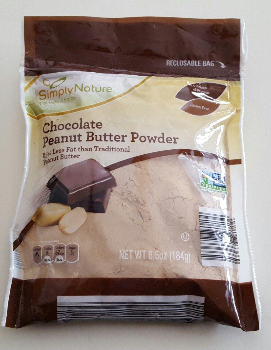 Simply Nature Chocolate Peanut Butter Powder Chocolate Peanut