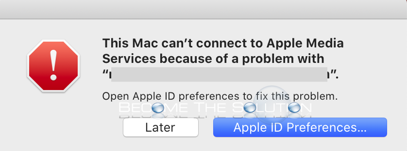 Why This Mac Can T Connect To Apple Media Services Because Of A Problem With In 2020 Connection Mac Apple