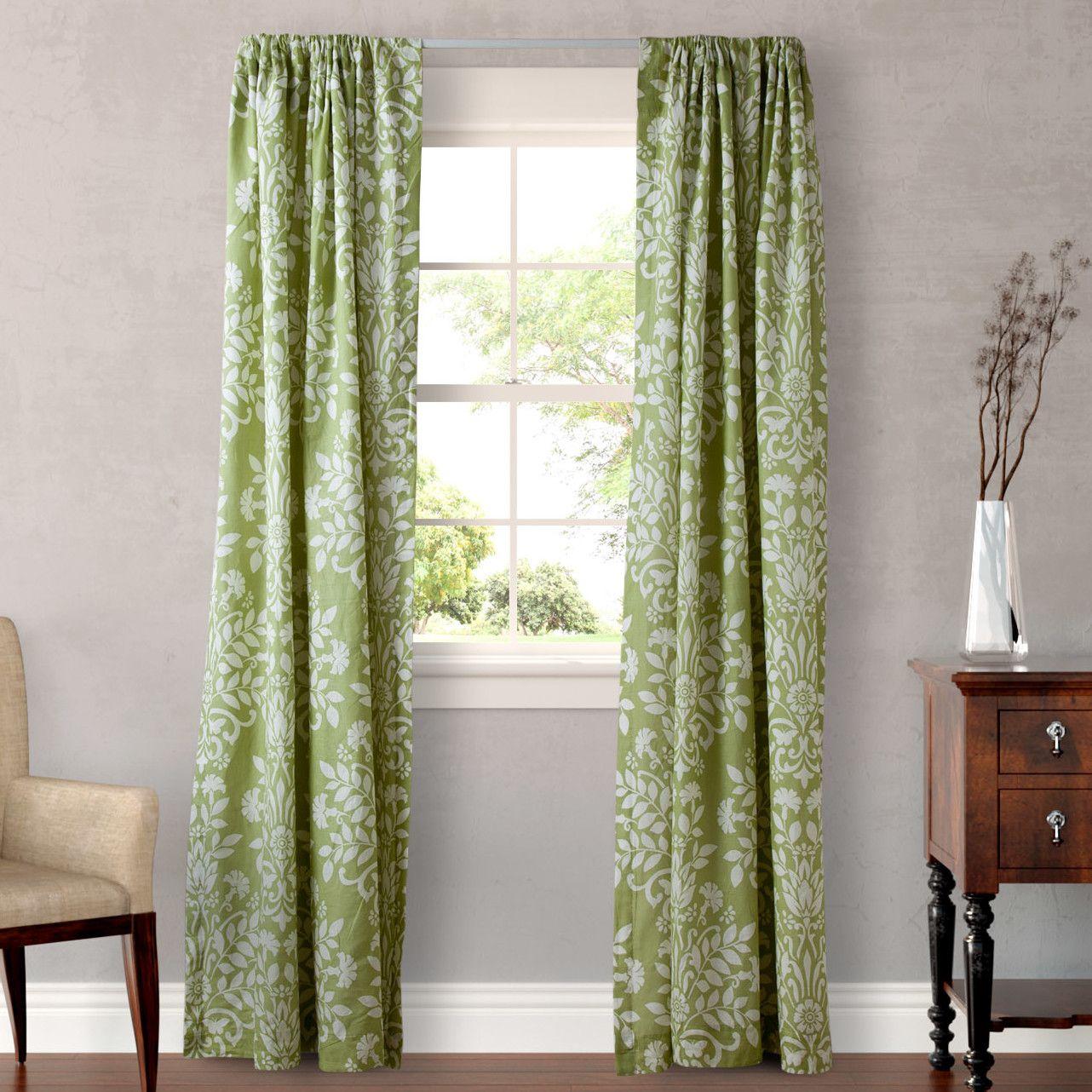 Laura Ashley Home Rowland Curtain Panel Sage Curtains Panel