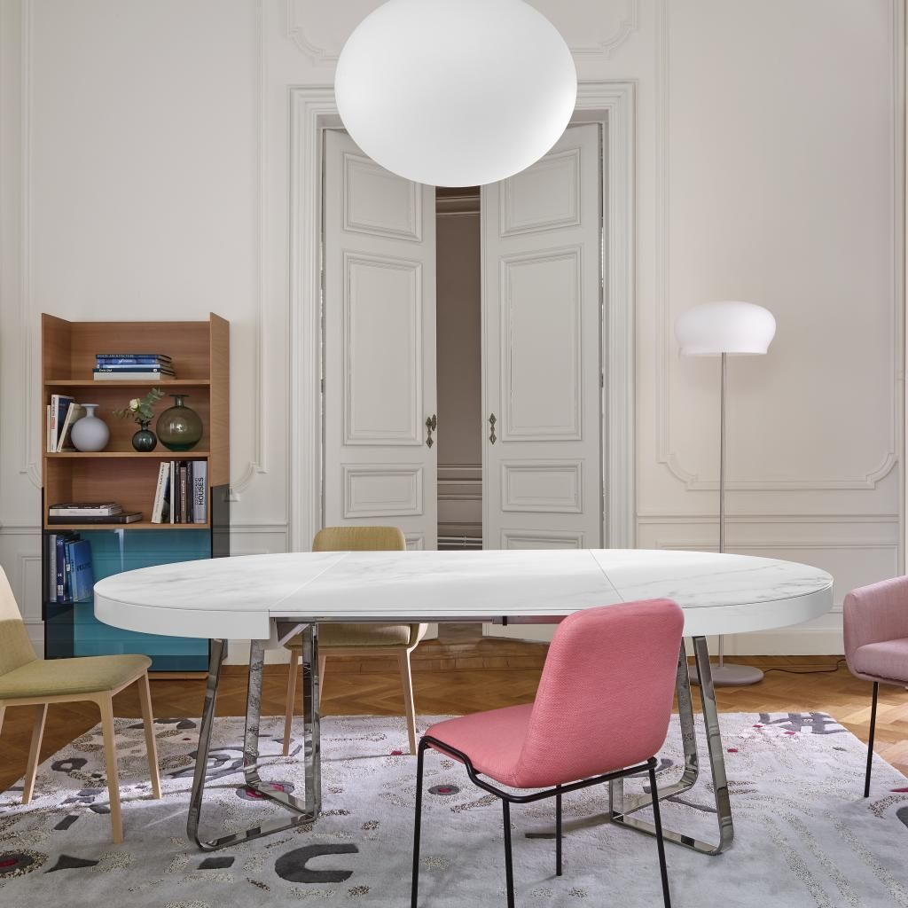 Tadao By Eric Jourdan In 2020 Dining Table Occasional Table