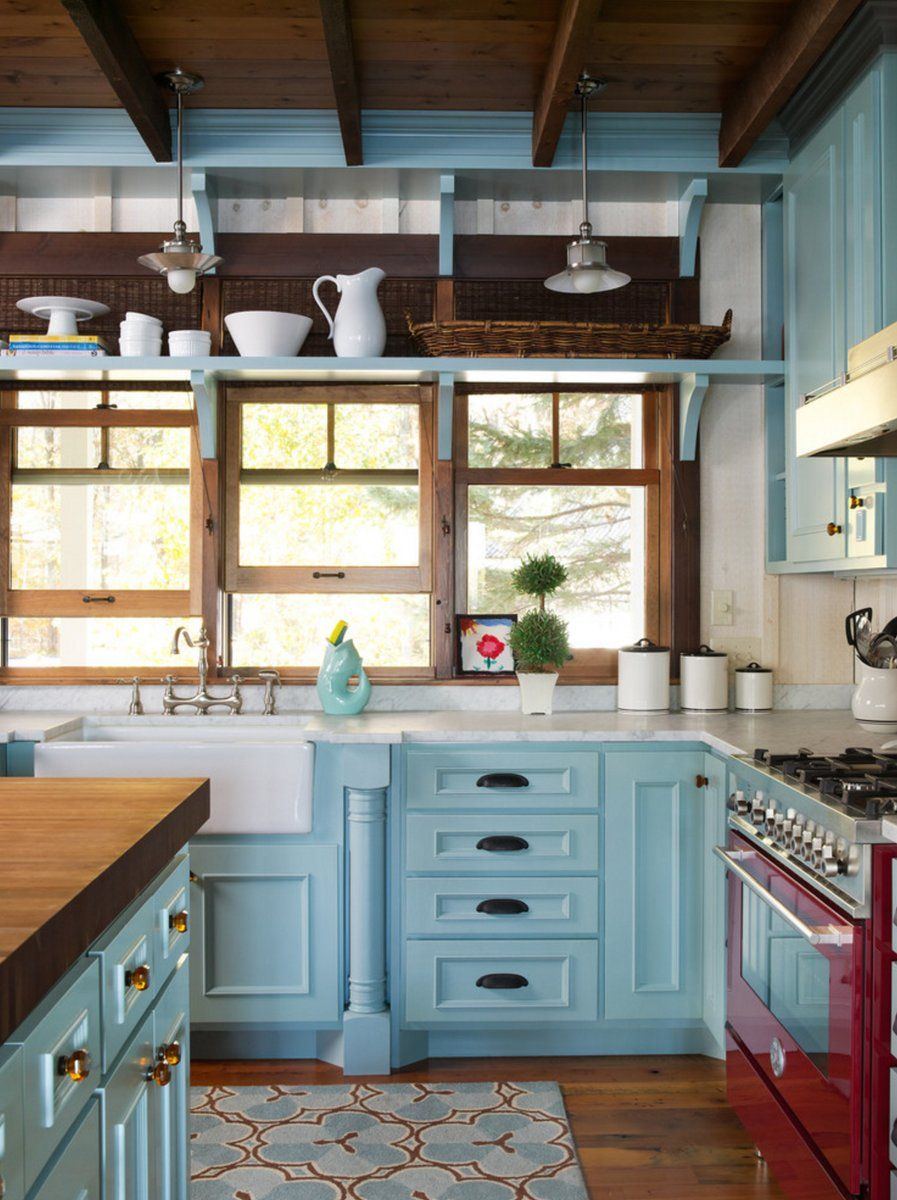 Media Tweets By Houzz Houzz Cottage Kitchen Decor Kitchen Design Home Kitchens