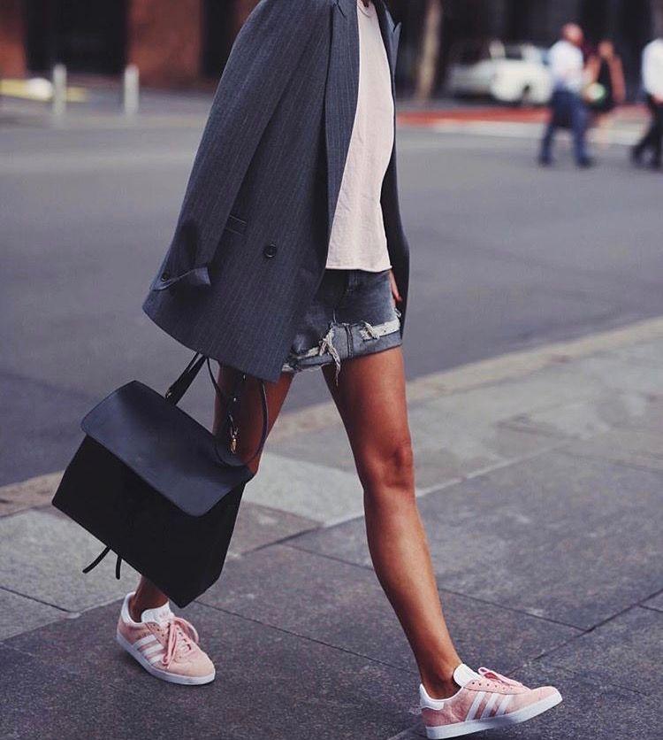 adidas gazelle avec robe