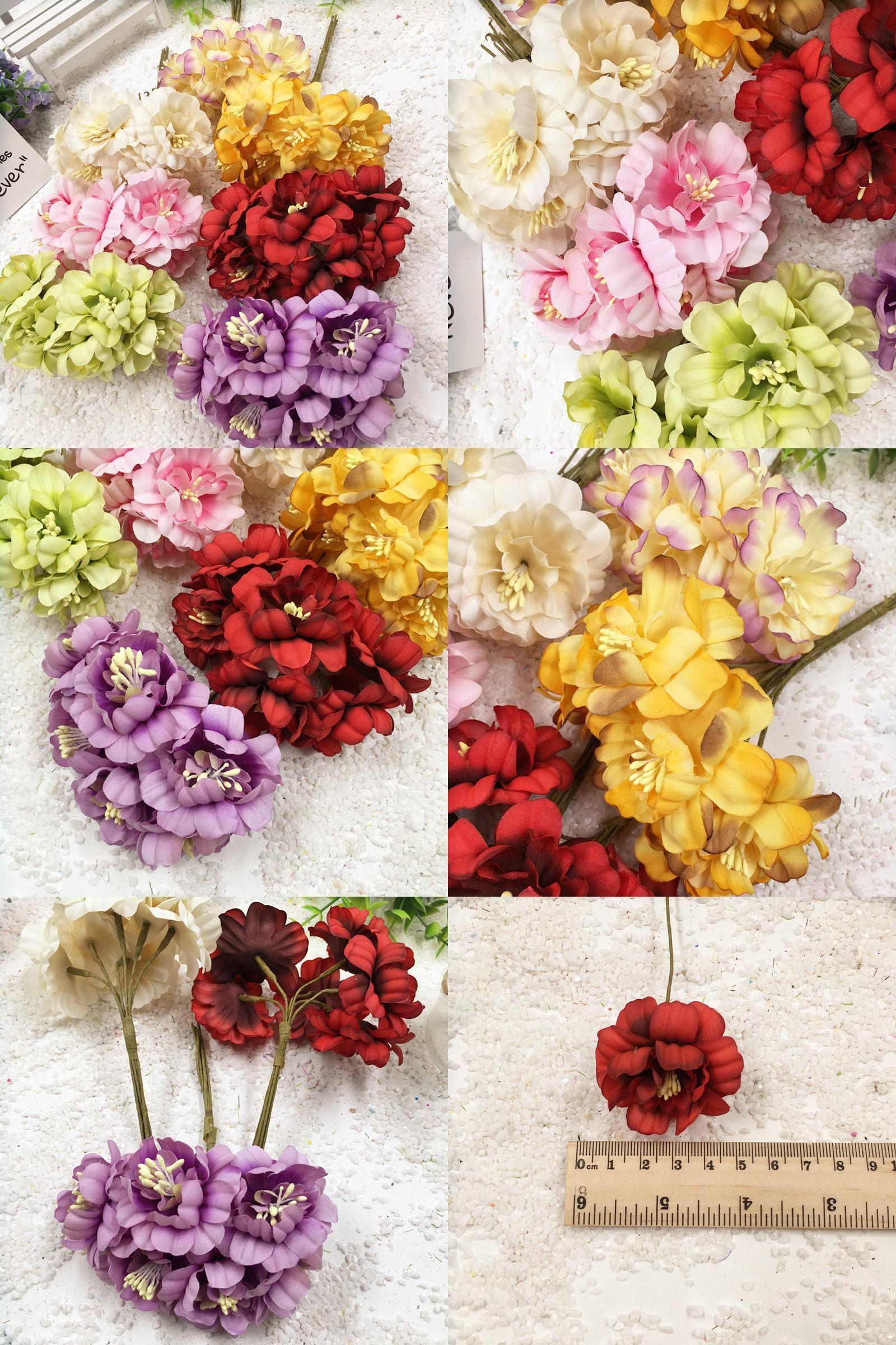 Visit To Buy 6 Pcs 45 Cm Artificial Silk Cloth Daisy Flower