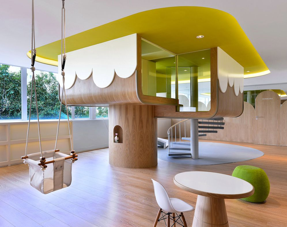 Spring Learning Center At Hong Kong By Joey Ho Design Knstrct Pinned Www Megwise It Neverland