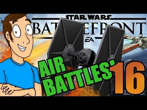 Star Wars Battlefront: FIGHTER SQUADRON FUN!- Part 16 - YouTube