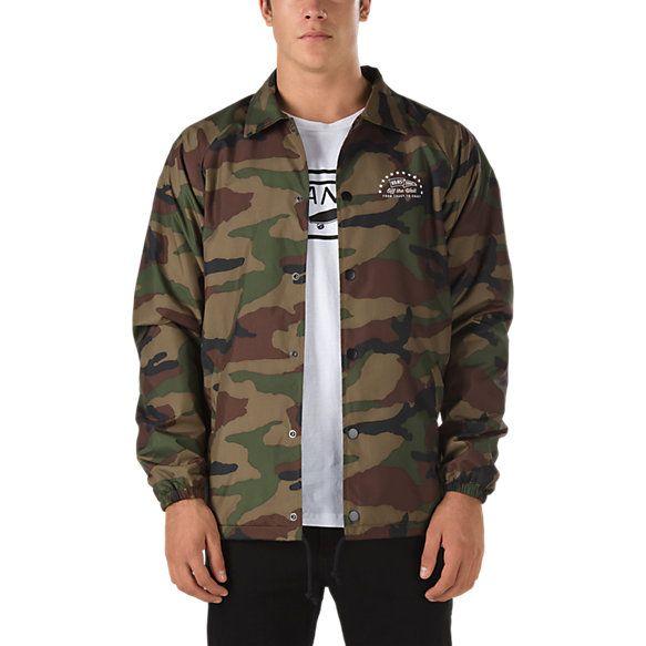 Torrey Coaches Jacket | Shop Jackets in 2019 | Jackets, Camo