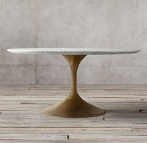 Aero Marble Round Dining Table dining table Pinterest Dining