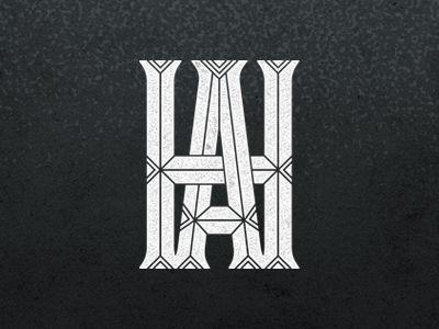 Monogram by Jennifer Lucey-Brzoza