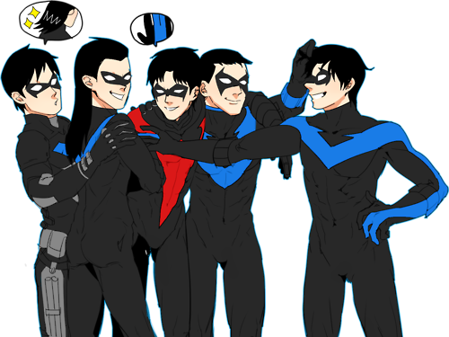 Nightwing-s  It's missing the disco outfit though | Grayson