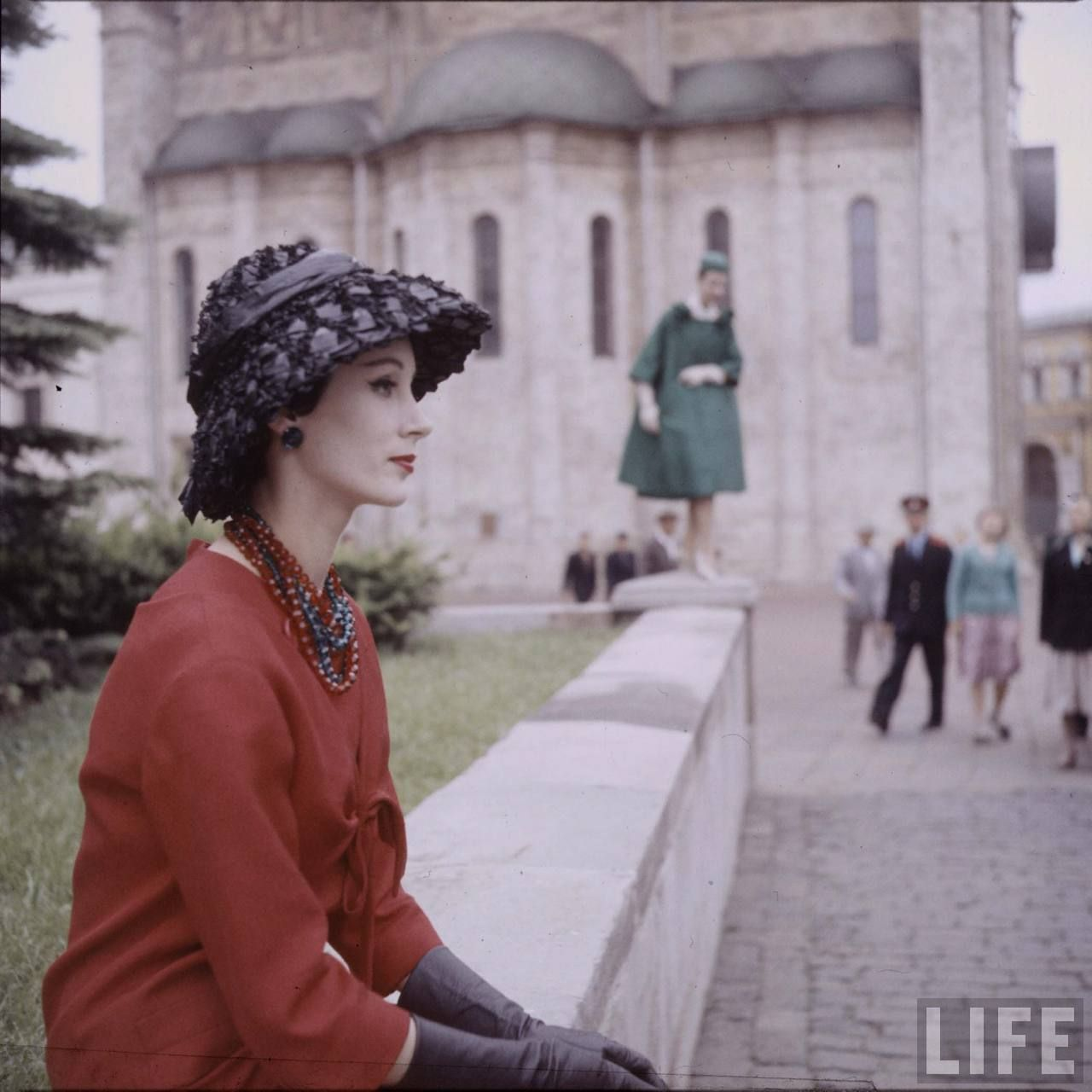 Dior in Moscow, 1959