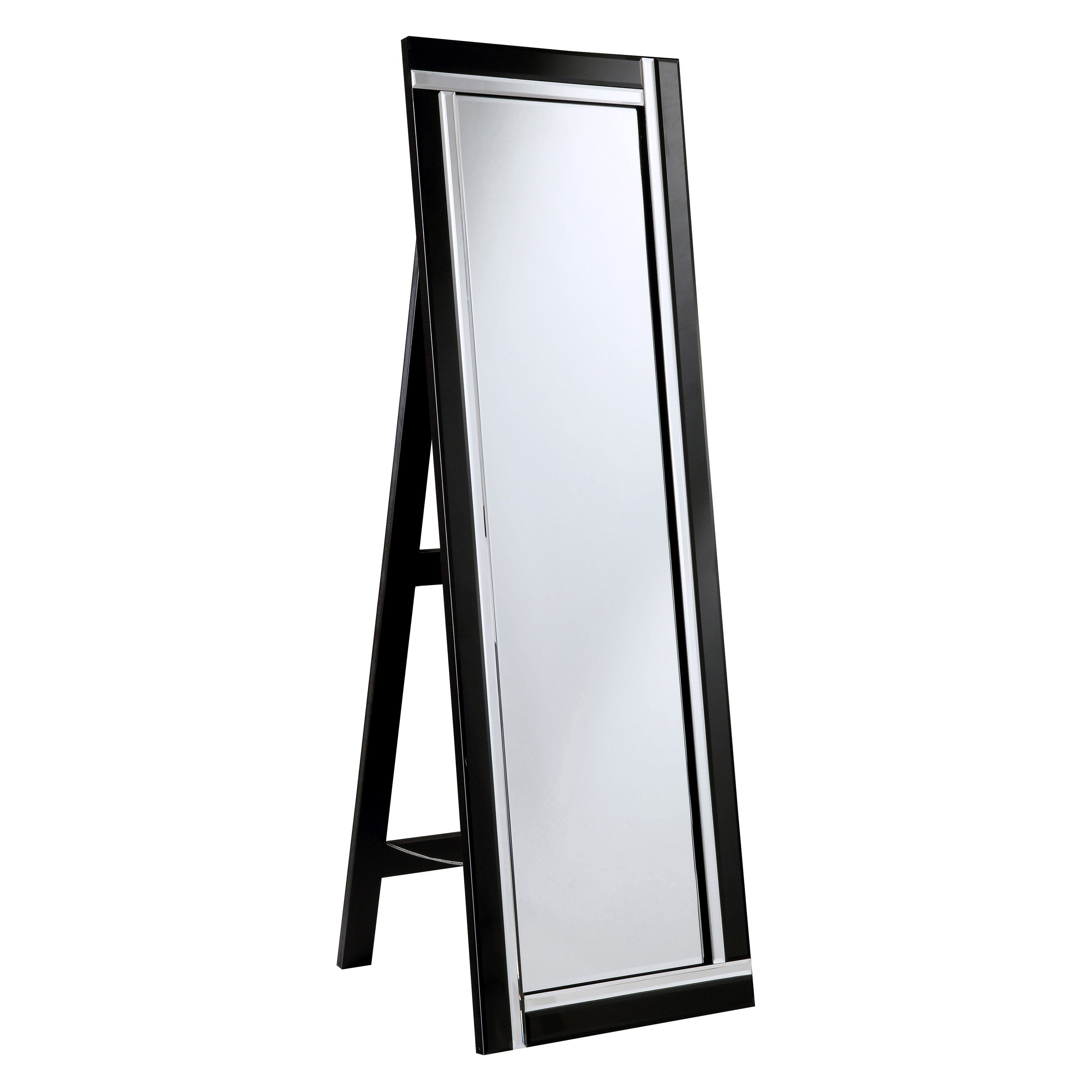 Elegant Furniture Amp Lighting Modern Floor Mirror 17 8w X 59h In From Hayneedle Com Modern Floor Mirrors Elegant Lighting Modern Mirror