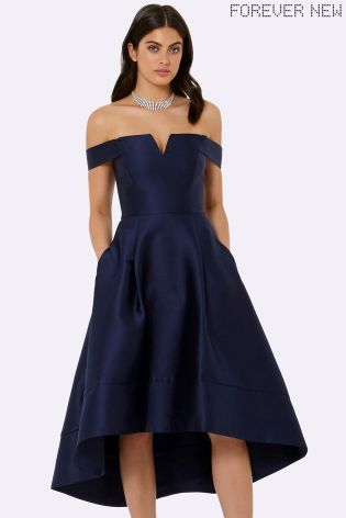 Buy Forever New Bardot High Low Prom Dress from the Next UK online shop
