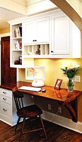 Best A Good Diy Desk In Kitchen I Really Only Need The Space 400 x 300