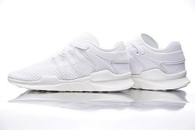 meet d7151 bd029 Adidas EQT Support ADV Primeknit 9117 All White CQ2163