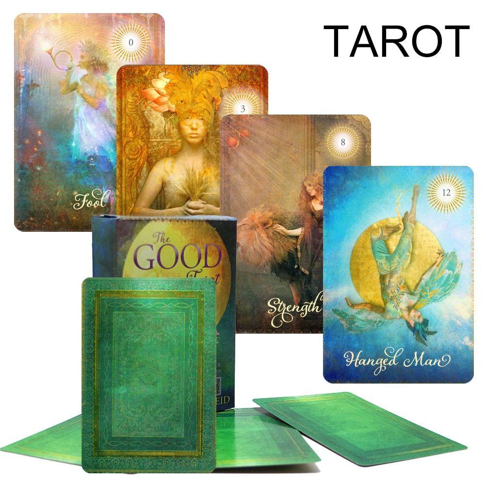 2018 good tarot cards game English version tarot deck