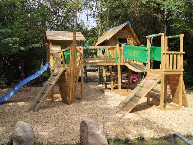Jungle Gym Around The World 🌍 A True Creative Play Paradise With Two  Playhouses, A