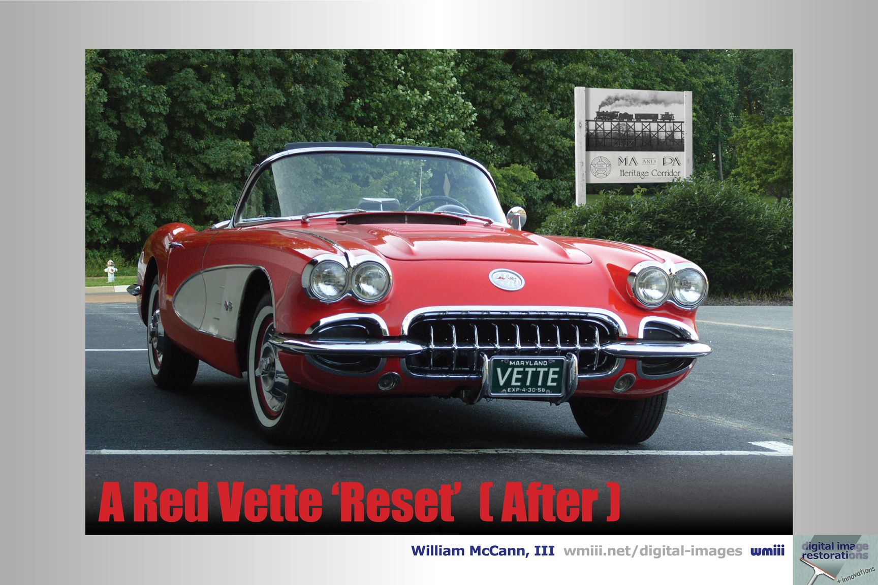 Red Vette Reset (After)