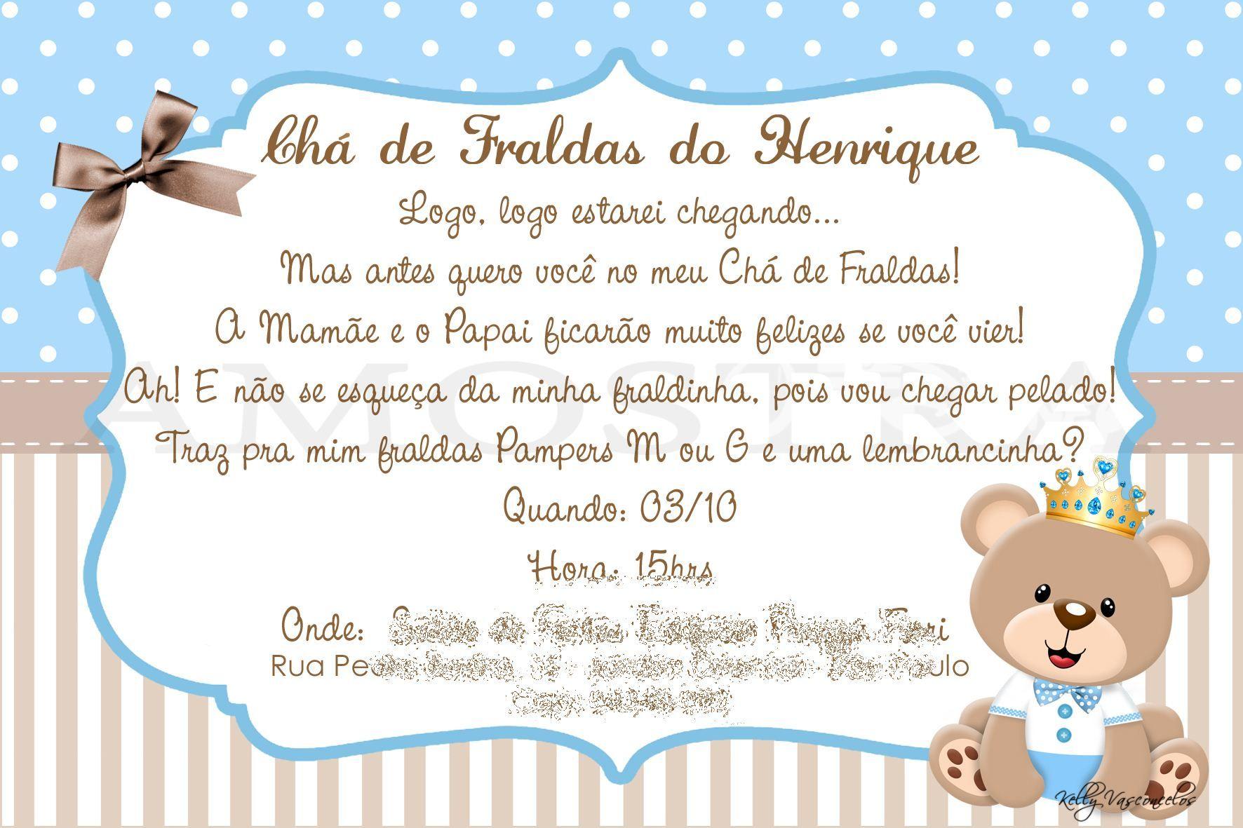 100 Convites De Chá De Bebê Continue Vendo Party Prince
