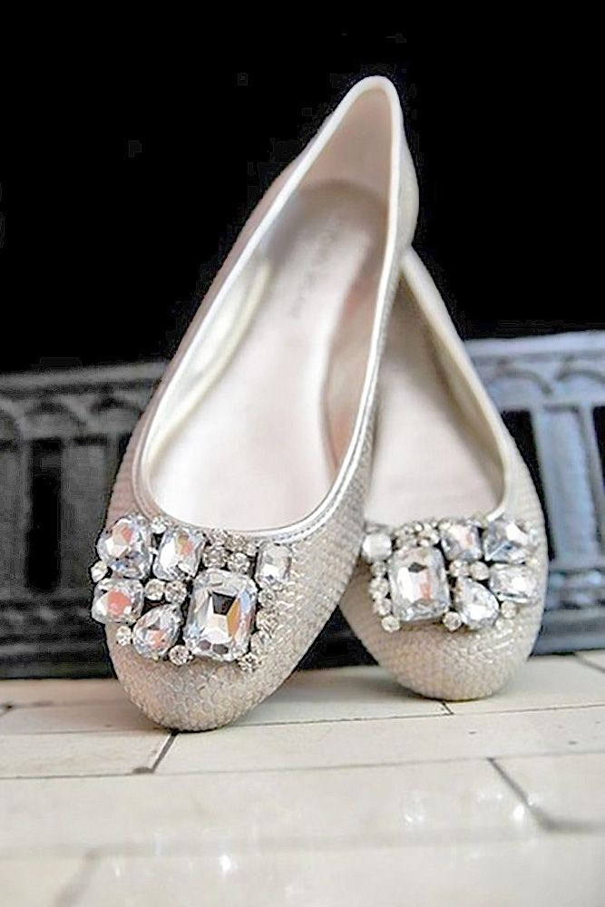 df8e1c355b2b 27 Flat Wedding Shoes For Lovers Of Comfort   Style