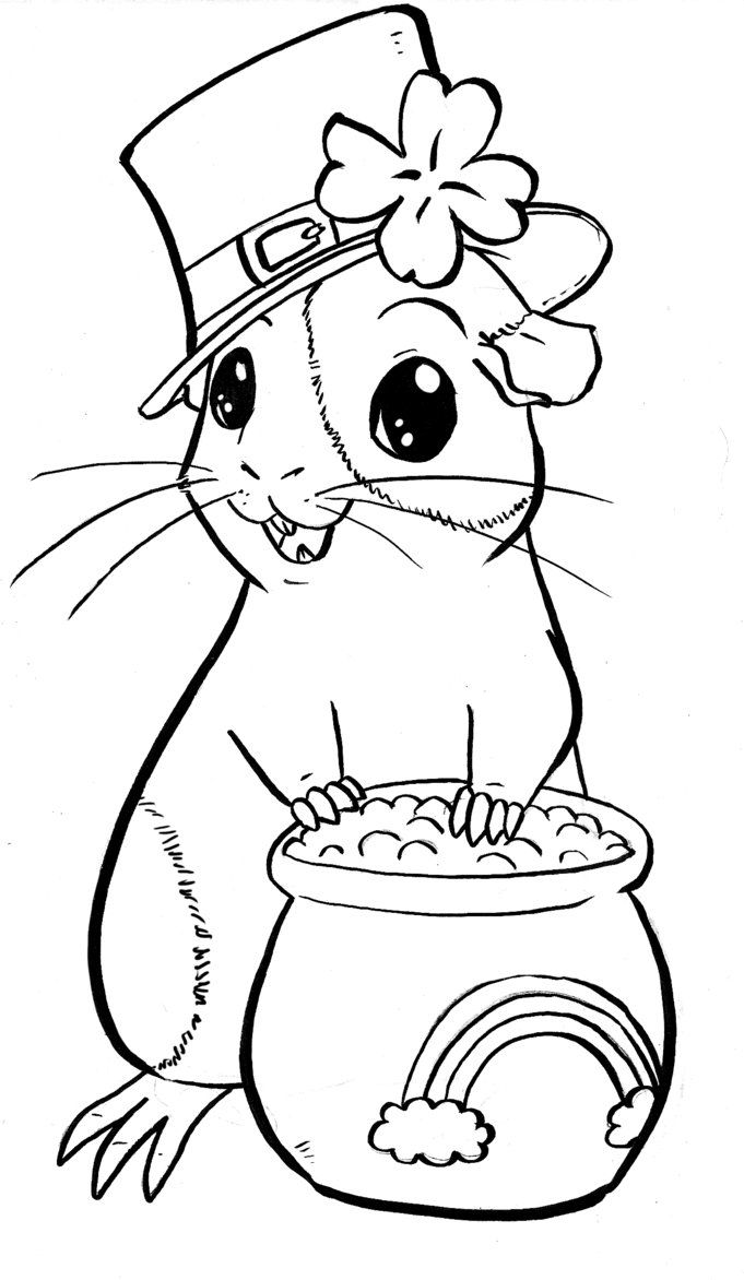 Forms Guinea Pig Coloring Pages To Download And Print For Free ...