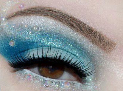 Mermaid Style Makeup