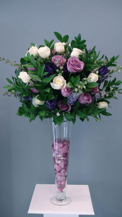 Centros De Mesa Con Flores Naturales Para Quince Anos Boda - Centros-de-mesa-de-flores-naturales