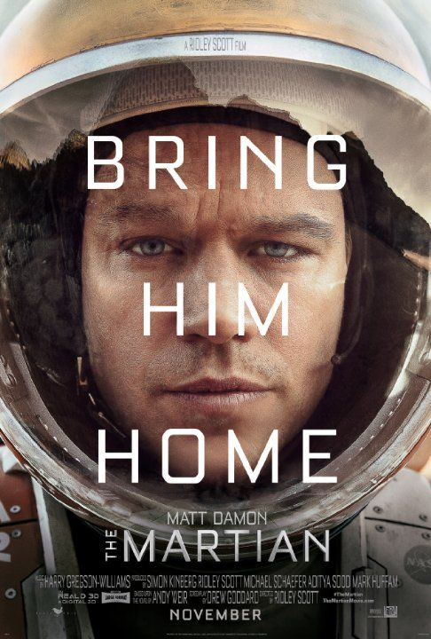The Martian (2015) - During a manned mission to Mars, Astronaut - what is presumed