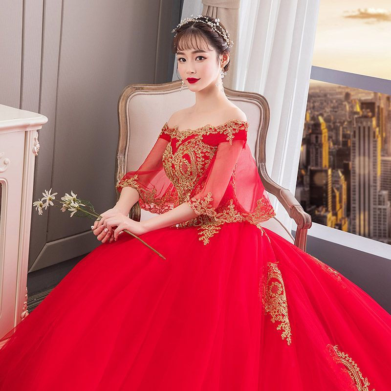 40+ Red ball gown bridal dress ideas in 2021