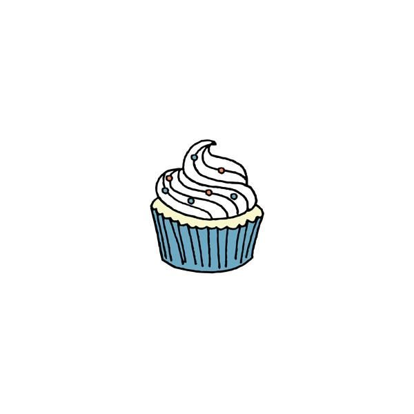 Download Cupcake Outline