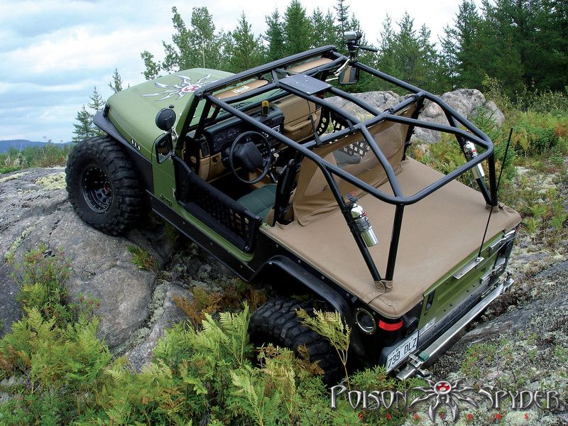 Poison Spyder Fully Welded Full Cages Pirate4x4 Com 4x4 And