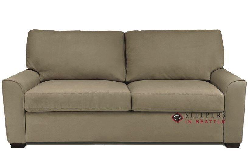 Quick Ship Klein Queen Fabric Sofa By American Leather Fast Shipping Klein Queen Sofa Bed Sleepersinseattle Com In 2020 Leather Sleeper Sofa American Leather Sleeper Sofa Sleeper Sofa