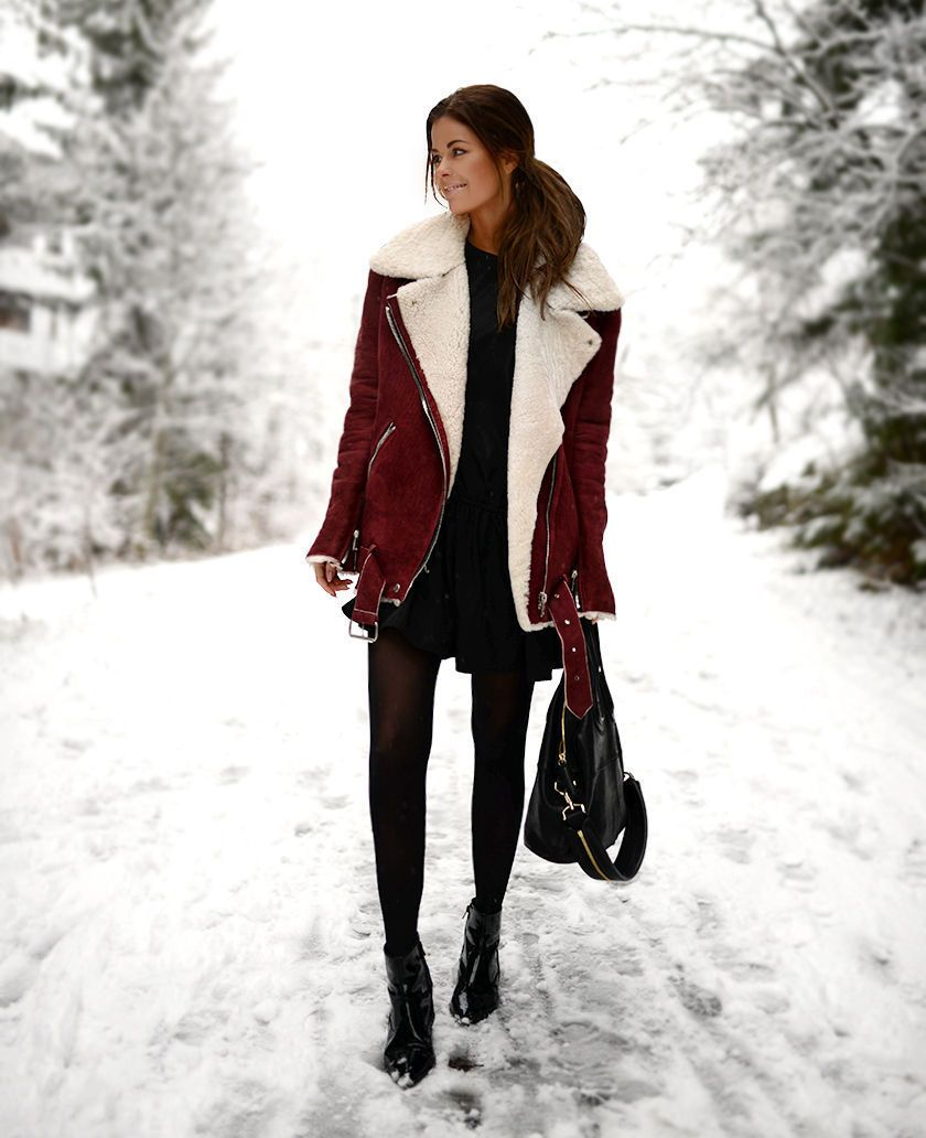 Keep Fashionable During Winter with Shearling Jacket | Shearling ...