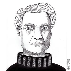 Portrait of Roy Lichtenstein by Ninatown