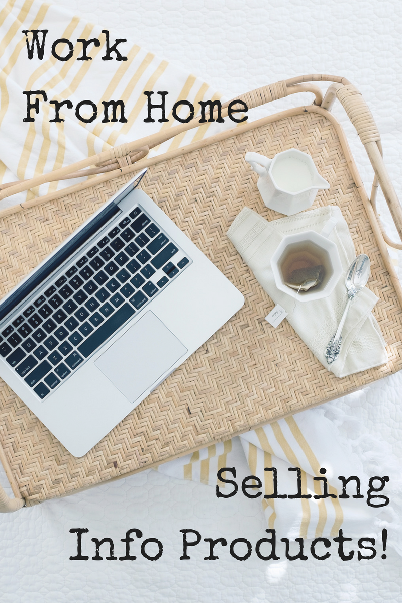 Work from home. Sell information products. Sell digital products ...