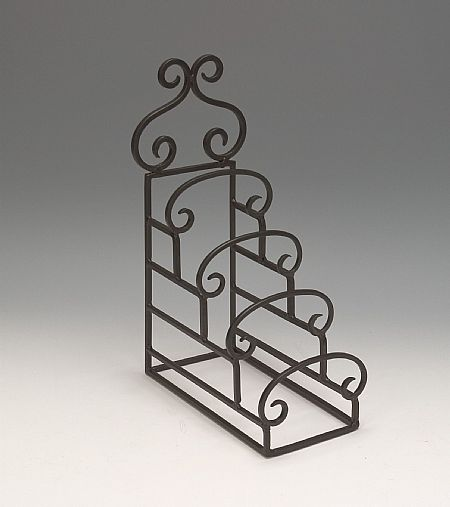 Plate Stands - Wrought Iron Four Tiered Decorative Plate Holder & Plate Stands - Wrought Iron Four Tiered Decorative Plate Holder ...