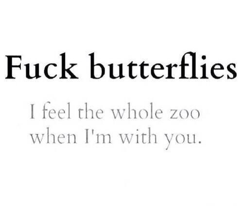 You Give Me Butterflies Quote Amor Frases Amor Desamor